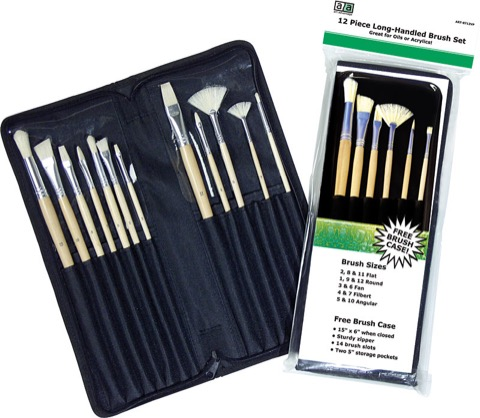 Long-Handled Brush Set