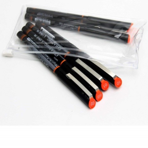 Graphic Liner Needle Point Drawing Pen Set