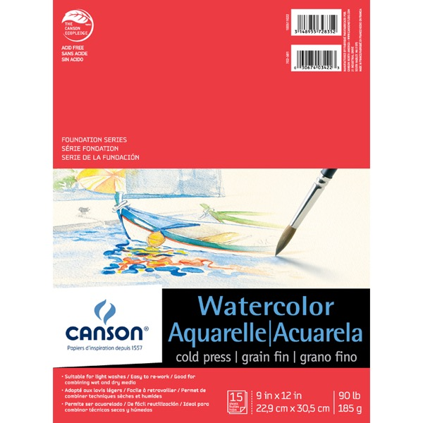 Foundation Series Watercolor Sheets