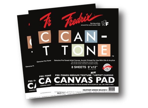 Can-Tone Canvas Pads