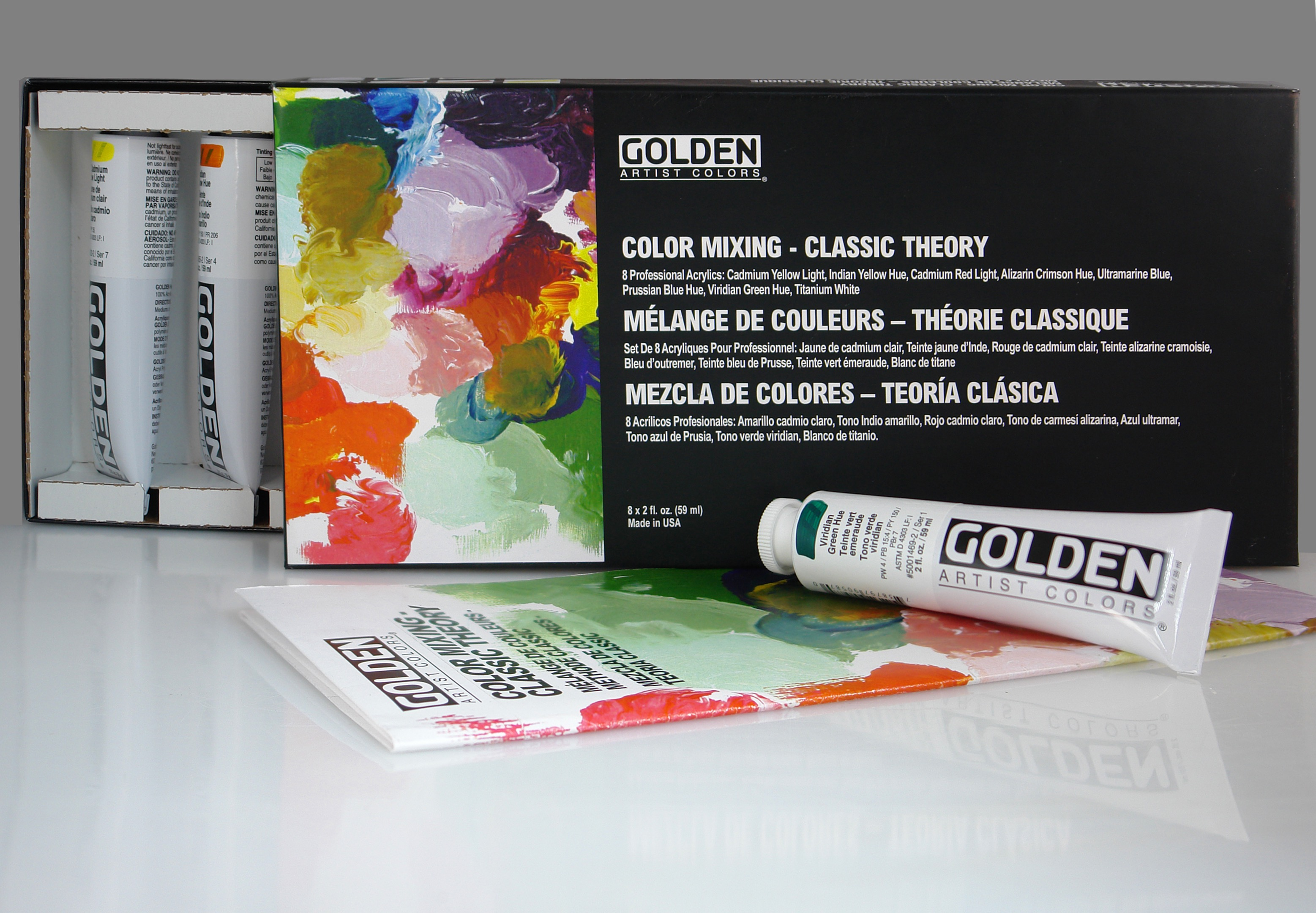 Classic Theory Color Mixing Set