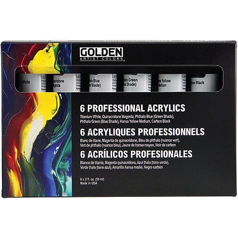 Principal Professional Heavy-Body Acrylic Set
