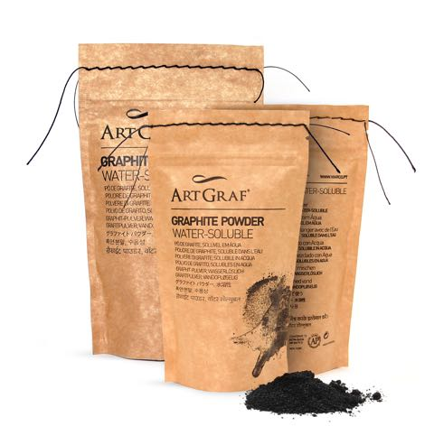Water-Soluble Graphite Powder