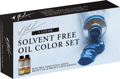 Solvent Free Oil Color Set
