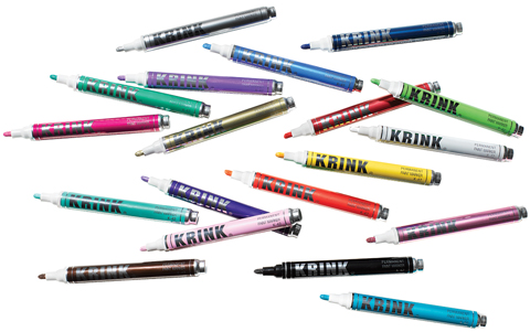 K-42 Opaque Permanent Paint Markers