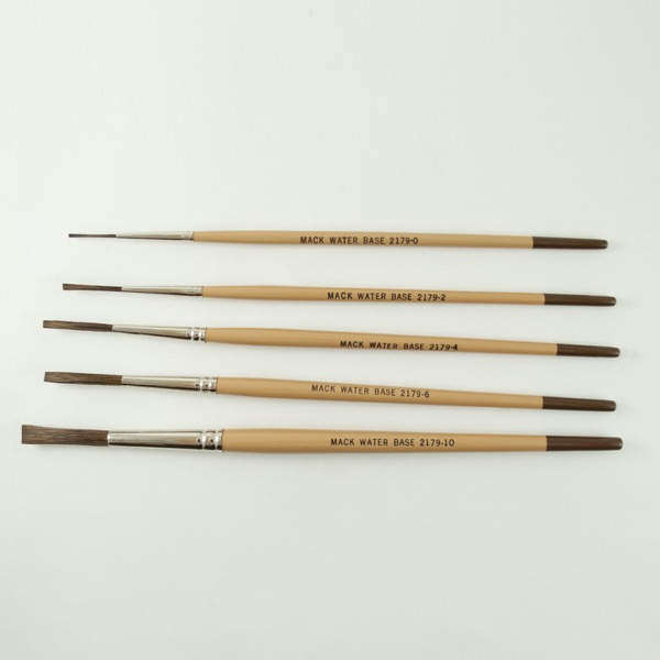 Series 2179 Water Base Lettering Quills