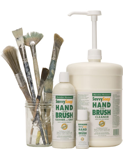 SavvySoap Hand and Brush Cleaner