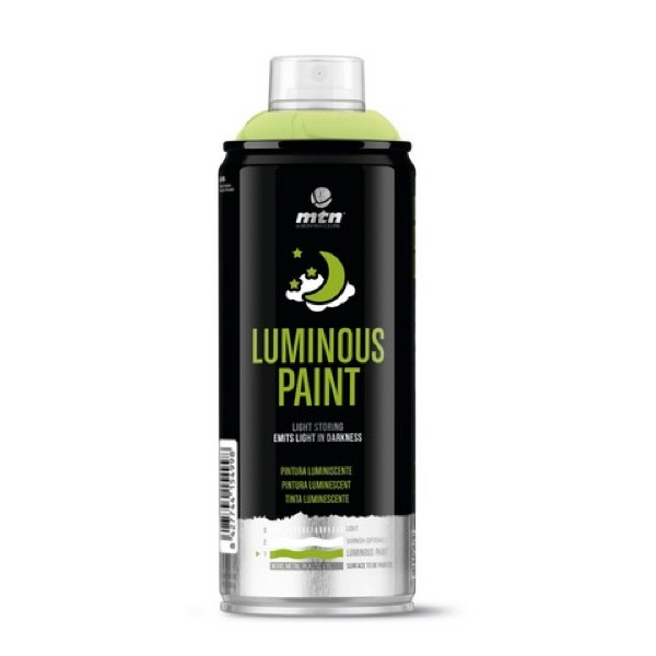Luminous Paint Spray