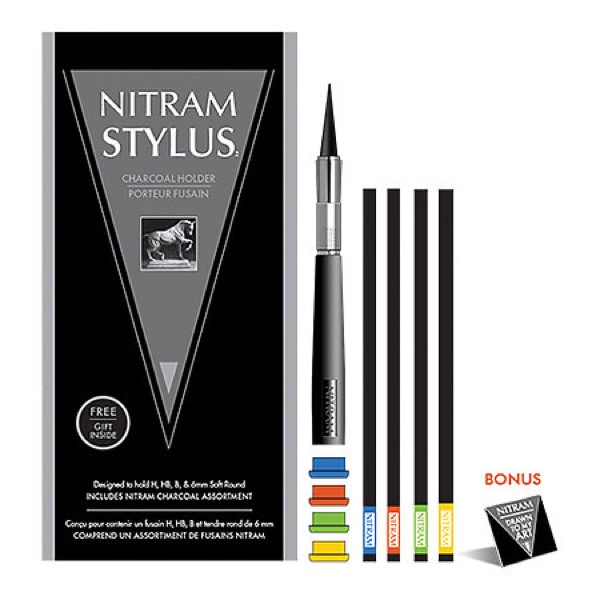 Charcoal Stylus Set