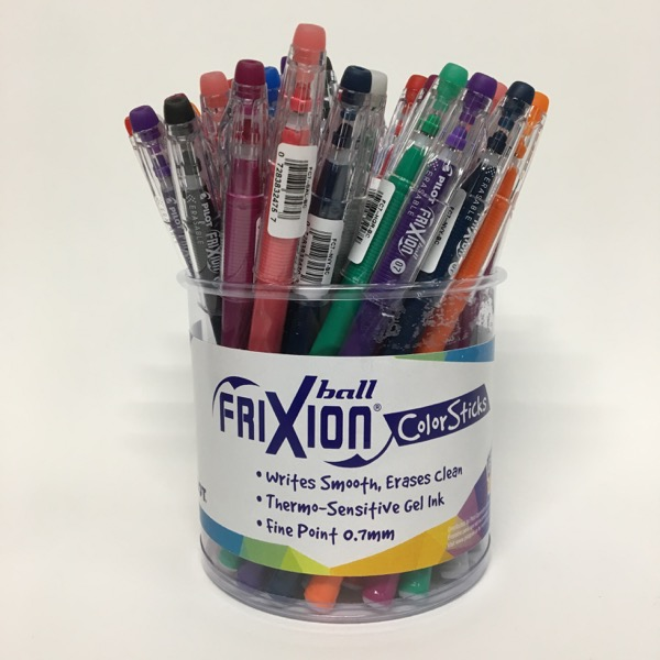 FriXion ColorSticks Erasable Gel Pens