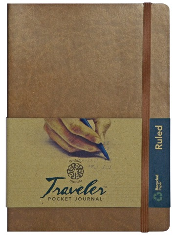 Ruled Traveler Pocket Journals