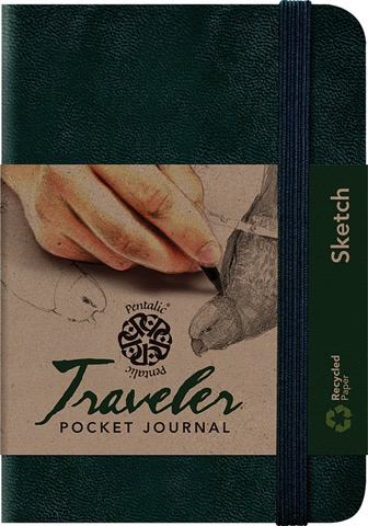 Blank Sketch Traveler Pocket Journals