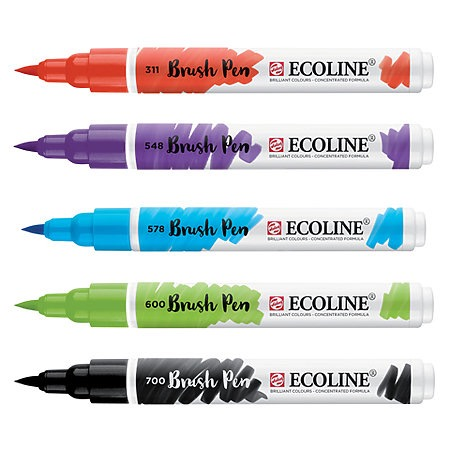 Ecoline Liquid Watercolor Brush Pens