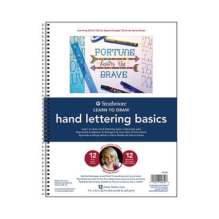Learning Series Hand Lettering Pads