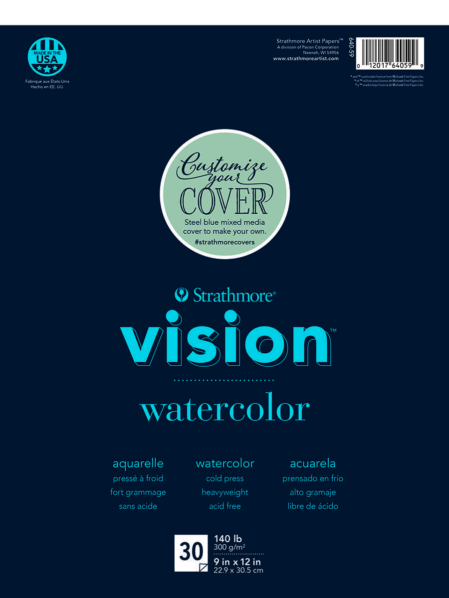 Vision Watercolor Paper Pads
