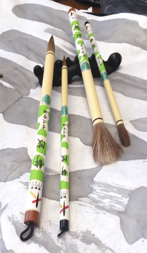 Handmade Sumi-E Brushes