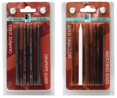 Graphite & Sketching Lead Sets