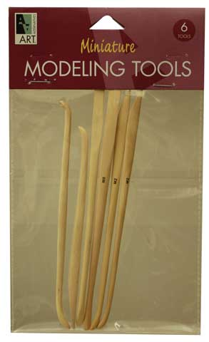 Miniature Boxwood Modeling Tools