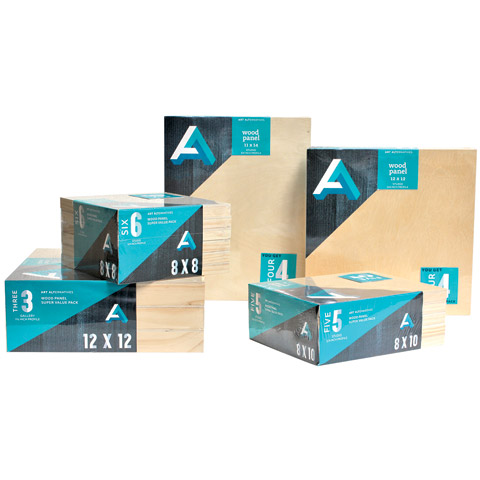 Cradled Wood Panel Super Value Packs
