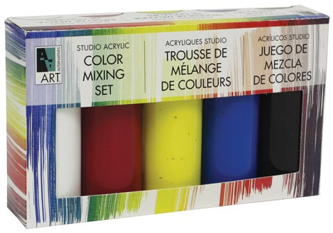 Studio Acrylic Color Mixing Set