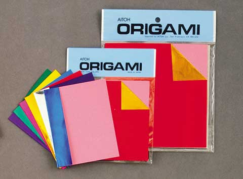 Double-Sided Origami Sheets