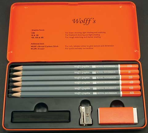 Wolff's Graphite Sketch Pencil Set