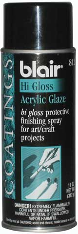 High Gloss Acrylic Spray Glaze