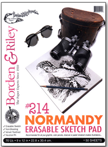 #214 Normandy Erasable Sketch Paper Pads