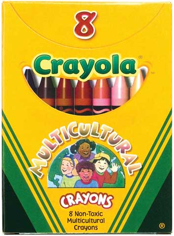 Large Multi-Cultural Crayon Set