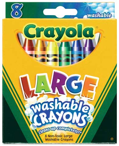 Washable Large Crayon Sets