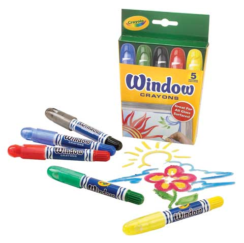 Window Crayon Sets