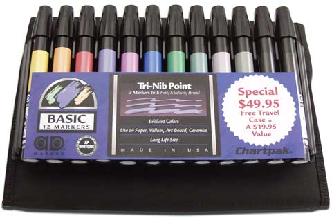 Ad Marker Travel Pack Sets