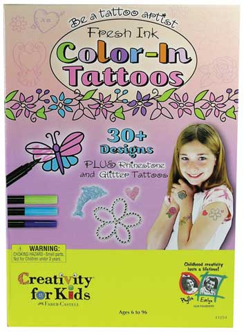 Fresh Ink Color-In Tattoos Kits