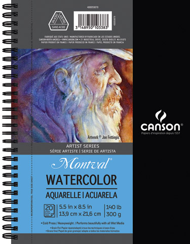 Artist Series Watercolor Books