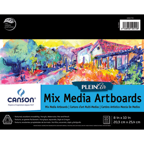 Plein Air Mix Media Artboards