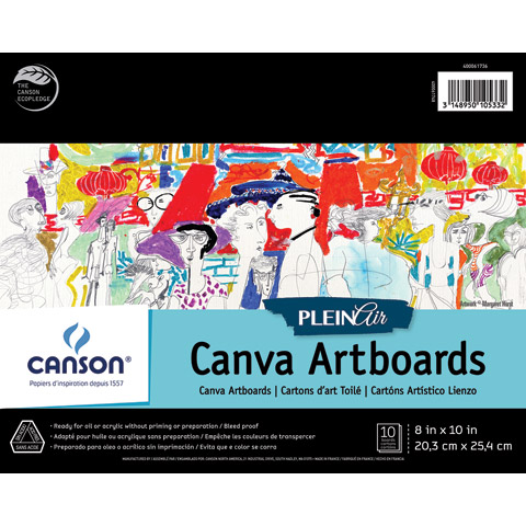 Plein Air Canva Artboards