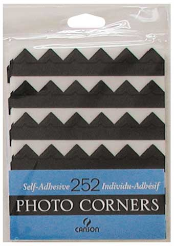 Self-Adhesive Photo Corner Sheets