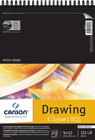 C' A Grain Drawing Pads