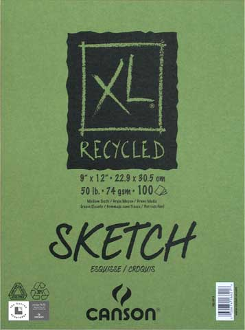 XL Recycled Sketch Pads