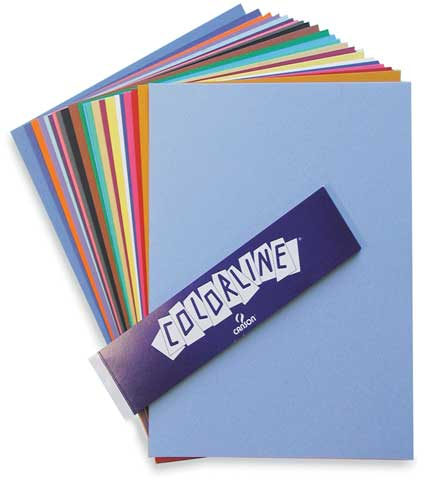 Colorline Paper Sheets