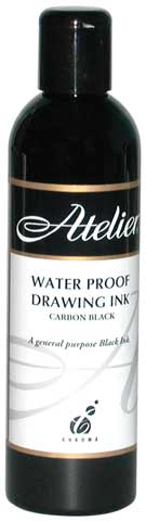 Atelier Interactive Black Drawing Ink