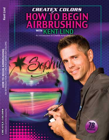 How to Begin Airbrushing DVD