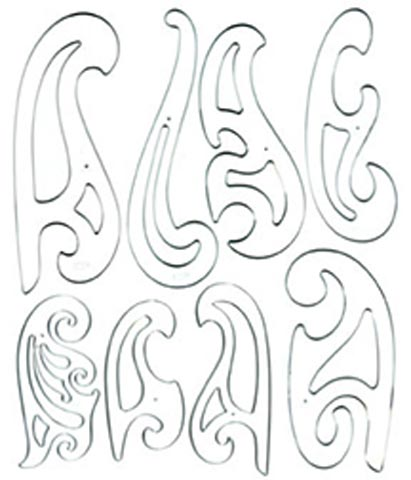 image about Printable French Curve named French Curve 8-Piece Established through Westcott - Uncooked Resources Artwork