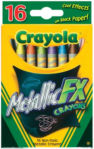 Metallic FX Crayon Set