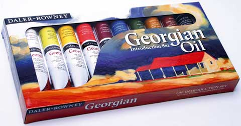 Georgian Oil Color Introduction Set