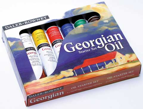 Georgian Oil Painting Starter Set