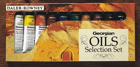 Georgian Oil Palette Selection Set
