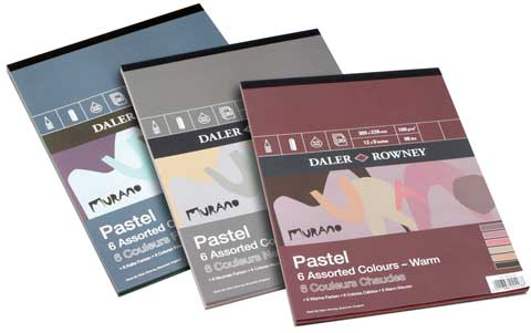 Murano Colored Pastel Paper Pads