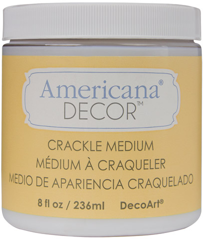 Americana Decor Clear Crackle Medium