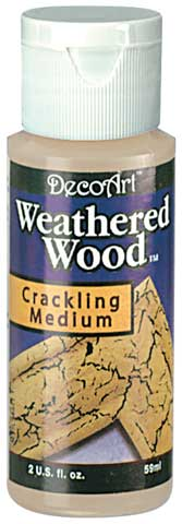 Weathered Wood Crackling Medium
